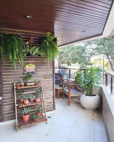 Lindo Apartamento Semimobiliado, 2 Suítes e 1 Quarto, Sacada Gourmet, no Centro! - Foto 7