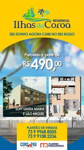 """Apartamento (Moradia ou Investimento) em """"Porto Seguro"""" Bahia- Na Planta!"""
