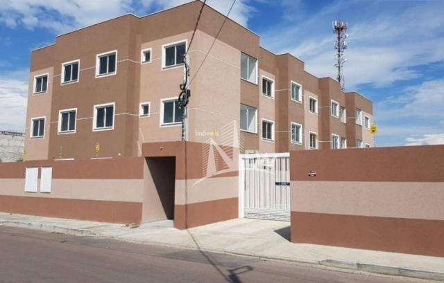 Apartamento térreo com GARDEN, 02 quartos no Parque da Fonte, São José dos Pinhais - Foto 3