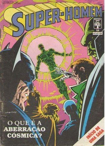 Kit Quadrinhos Marvel e DC (Super-Homem e Wolverine) 6 revistas