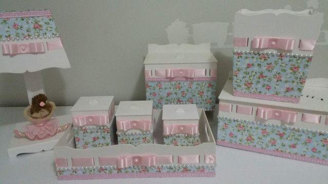 Kit higiene bebê personalizado - Foto 2