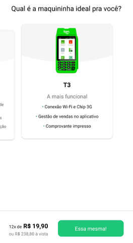 Maquininha de Cartão - Taxas Especiais  - Foto 3