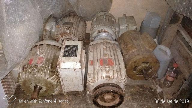 Serra de fita e motores elétricos monofásico. - Foto 3