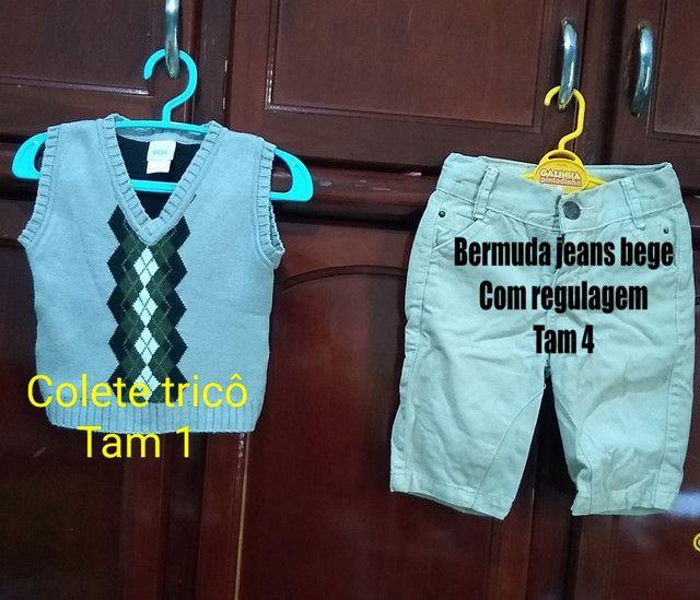 Vendo roupa infantil seminovos bem conservado, só vendo não entrego,sou de Cianorte pr. - Foto 2
