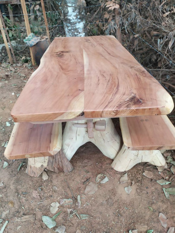 Mesas rustica