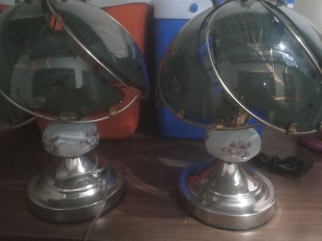 2 Abajur antigos  - Foto 3