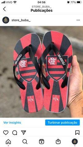Chinelos do Flamengo  - Foto 2