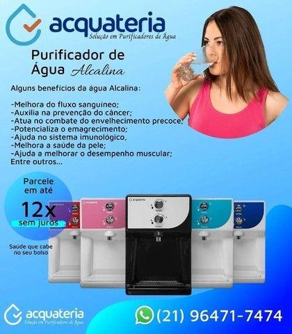 Purificador de Água Alcalina Ionizada