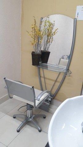 Espelho + Cadeira para salão  - Foto 2