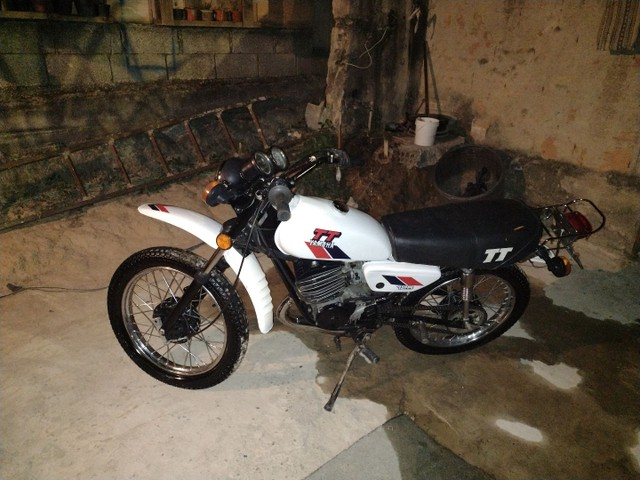 Moto Yamaha Tt125 ano 1979 - Foto 8