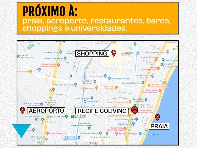 Apartamento por Assinatura em Boa Viagem - Recife Coliving  - Foto 20