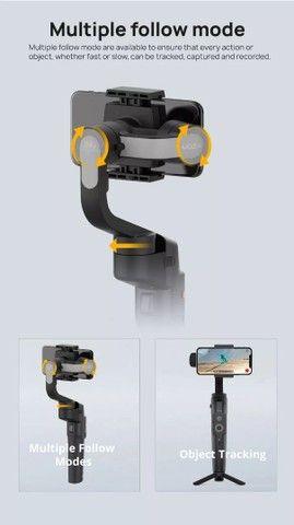 GRANDE PROMOÇÃO Gimbal Estabilizador Mini-s Essential Celular Moza Com Tripé<br> - Foto 3