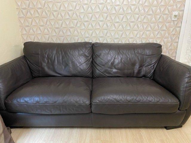 Sofa de couro tokstok brendoh - Foto 2