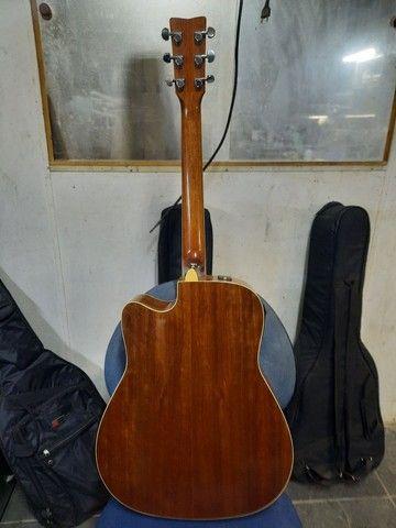 Violão Yamaha FGX-720sca - Foto 4