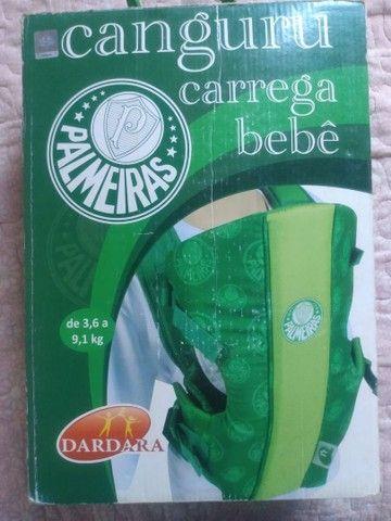 Canguru Carrega bebê do Palmeiras
