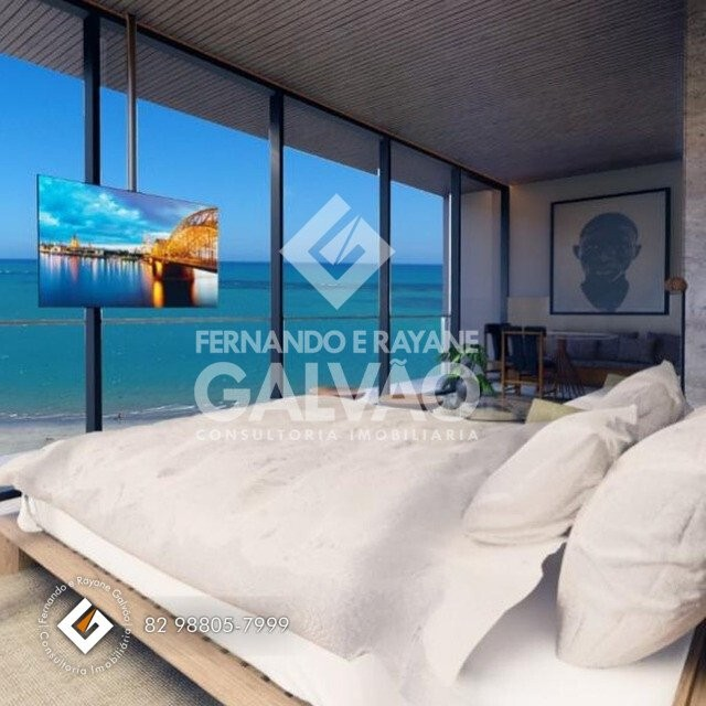 Studio 30m² na beira mar de Pajuçara ÷ 100 meses - Foto 8