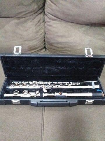 Flauta transversal Custom.