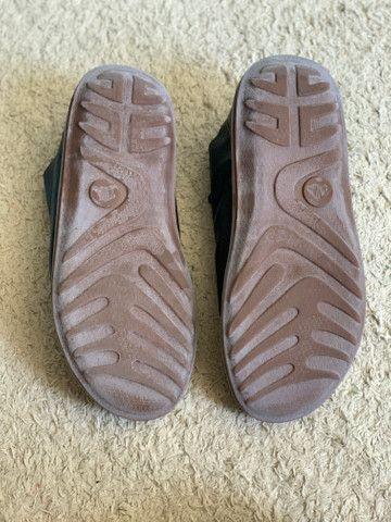 Sapato em couro legítimo Outer - Foto 4