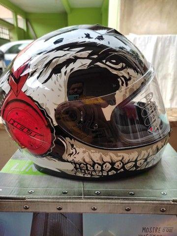 capacete moto helt dj skull tamanho 61 (xl)