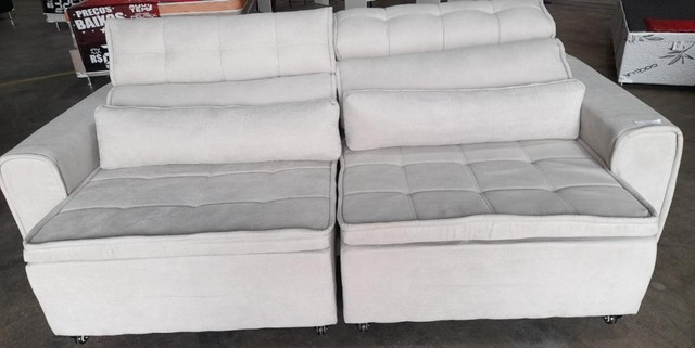 sofá retratil e reclinavel (entrega grátis) - Foto 2