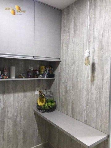 Apartamento com 3 dormitórios à venda, 106 m² por R$ 750.000,00 - Areão - Cuiabá/MT - Foto 15