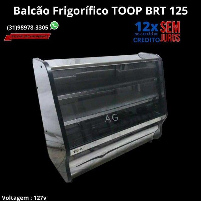 Kit Balcão Refrigerado, balcão Seco + Gôndolas de Parede + Mesa e cadeiras - Foto 5