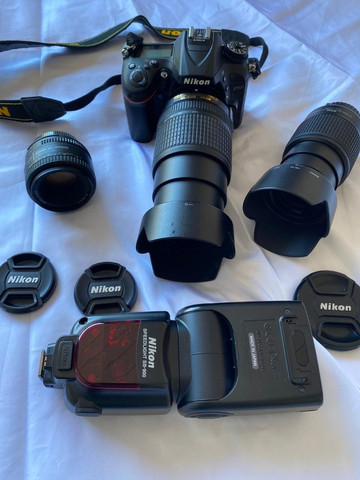 Camera fotográfica profissional Nikon 7200 praticamente nova