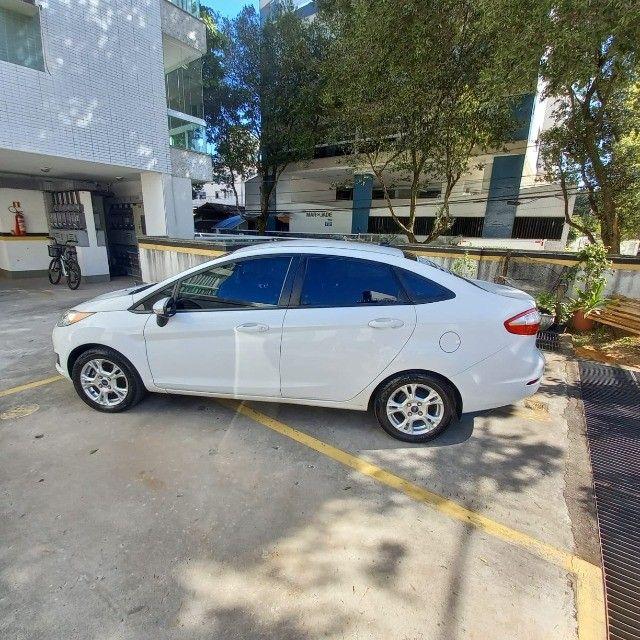 New Fiesta 1.6 SE Aut - Completo - Bco Couro 2014/2014 - Foto 3