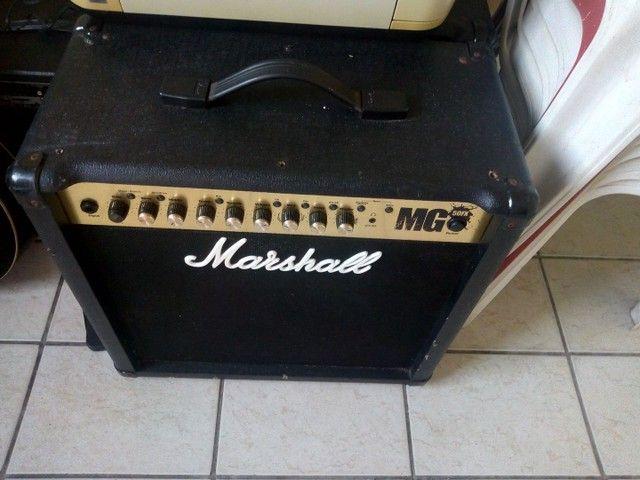Caixa Amplificada. Marshall / Guitarra - Foto 3