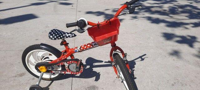 Bicicleta bike caloi menina aro 15 - Foto 5