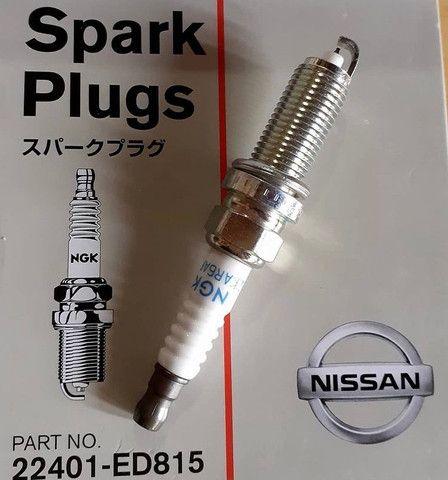 Bobina de ignicao e Vela de ignicao NGK do Nissan  - Foto 2