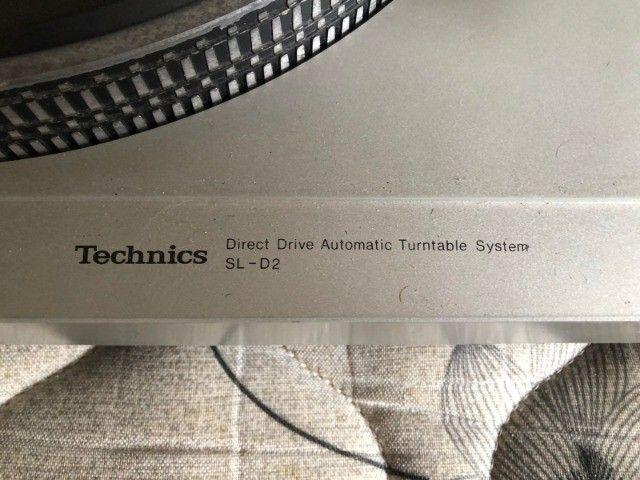 Toca Discos Technics SL-D2 - Foto 3