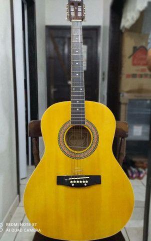 violão semi-novo