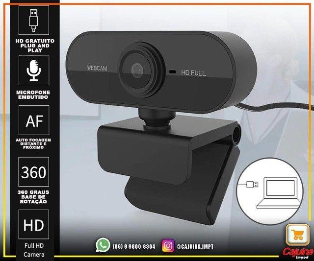 Webcam 1080p Full Hd Câmera Computador com Microfone M21sd9sd21 - Foto 3