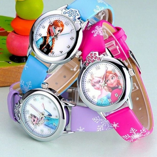 Relógio Analógico Frozen