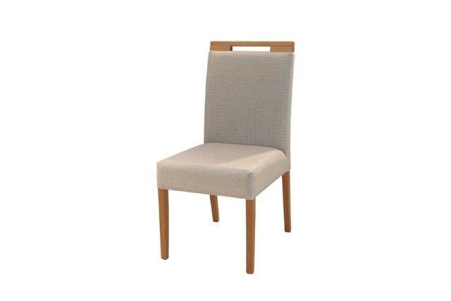 Mesa Sparta C/ 4 Cadeira Abraccio ? Vidro OffWhite - Entrega Rápida - Foto 3