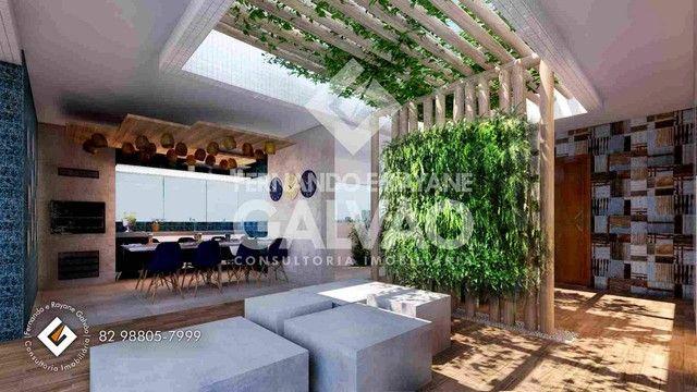 Quarto /Sala  com Varanda Gourmet, financ. banco, 1ª quadra da praia de Jatiúca! - Foto 11