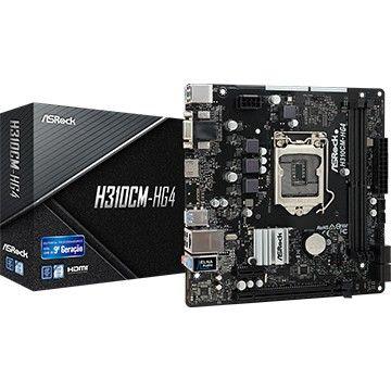Kit Gamer CPU Intel I5 9400f + Placa mãe Asrock H310CM + GPU Afox AMD Radeon R5 220 2GB   - Foto 3
