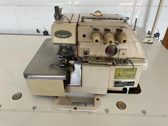 Máquina de Costura Unique Overlock - Foto 2