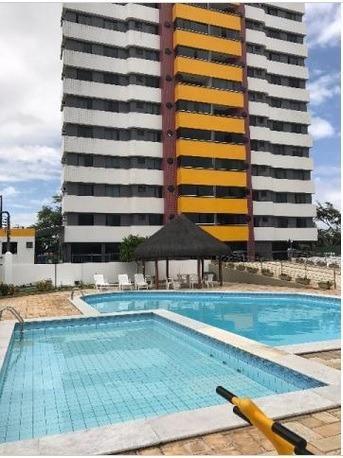 Cond. Mediterranee - Apartamento em Capim Macio, 3 suítes + dependência