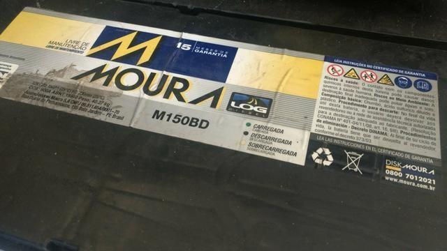Bateria Moura 150 ah - Usada