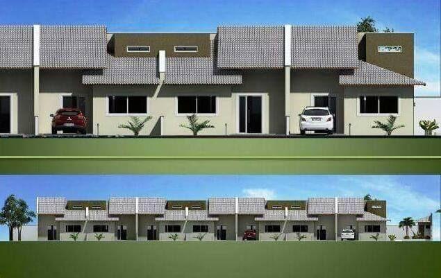 Casa Nova com 2/4 Sendo 1 Suíte com Área Goumert