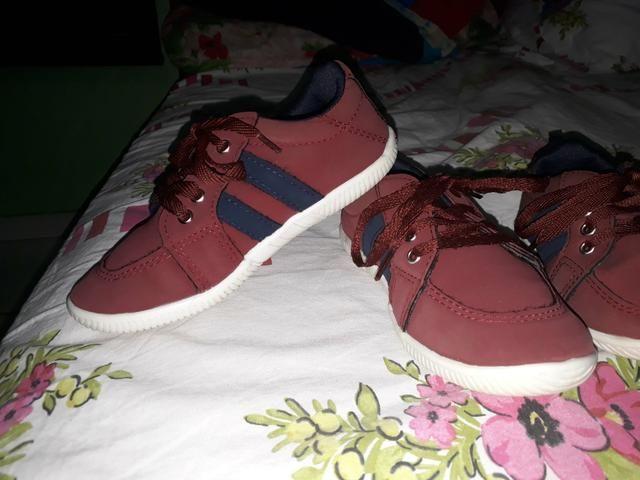 Sapato número 27