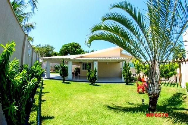 Mansão com 5 suítes, casa duplex, projetada e mobiliada, 7 vagas, rua privativa, Sapiranga - Foto 18