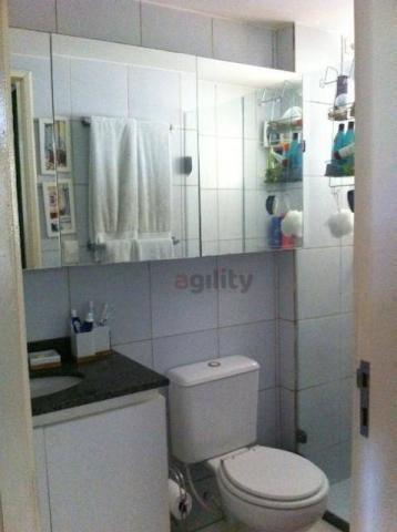 Apartamento com 2 dormitórios à venda, 63 m² por r$ 150.000 - pitimbu - natal/rn - Foto 8