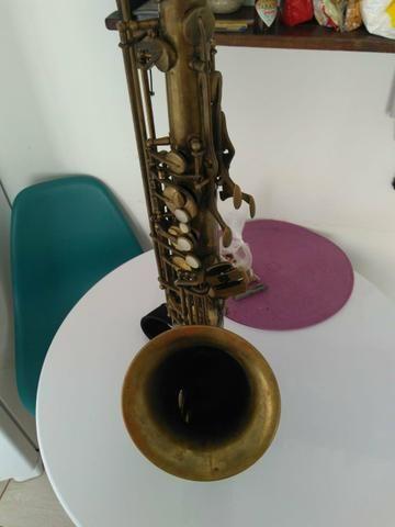 Sax Tenor Júpiter 789 787 com case e boquilha - Foto 3