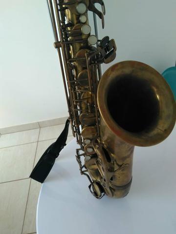 Sax Tenor Júpiter 789 787 com case e boquilha - Foto 2