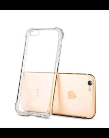 Capinha de iPhone 7 e 8 com pelicula de vidro - Foto 5