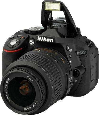 Camera Nikon D5300 com WiFi integrado - Foto 5
