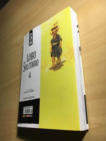 Mangá Lobo Solitário Ed.4 - Foto 3